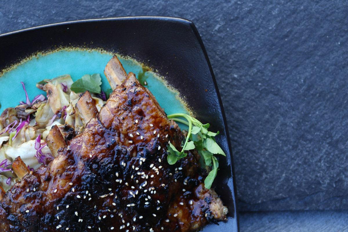 Kalbi Style Iberico Pork Spareribs Marx Foods Blog