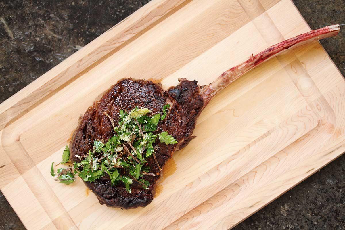 Kobe Beef Tomahawk Steak
