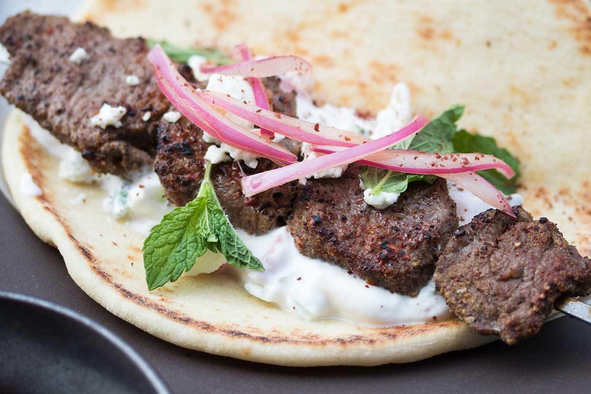 Lamb Loin Kebab