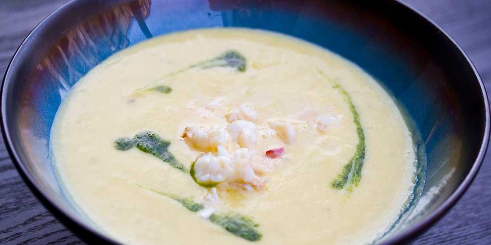 Lobster Sweet Potato Soup