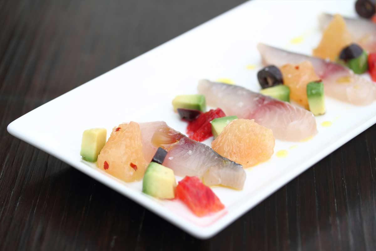 Mackerel Crudo