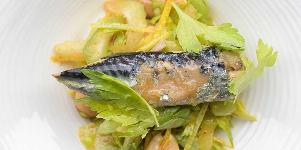 Mackerel Salad Tapa