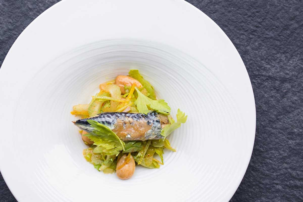 Mackerel Salad Tapa