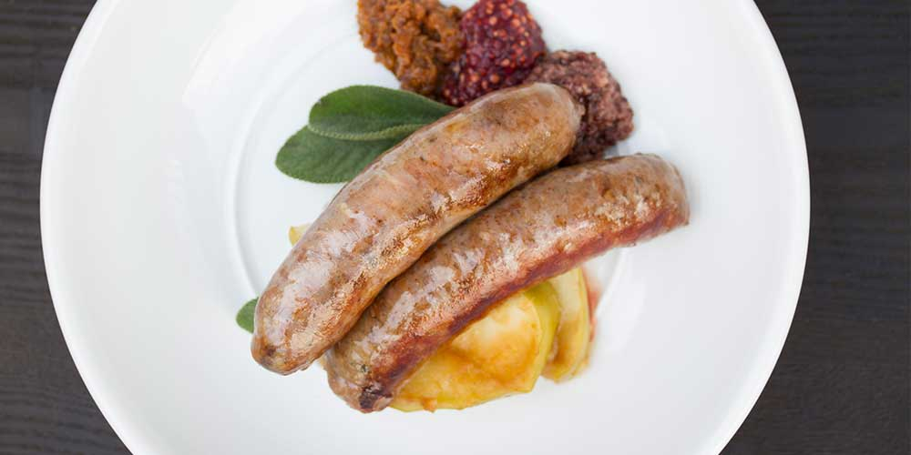 Mixed Sausages & Flavored Mustards