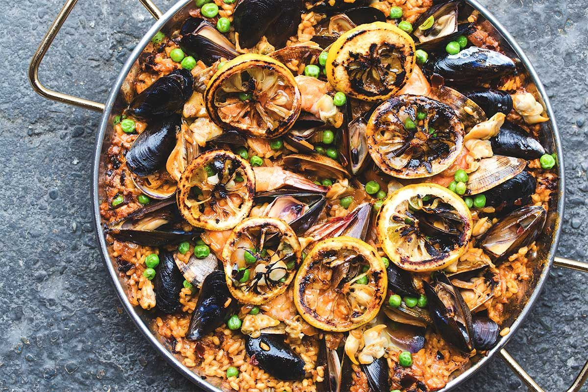Mixed Shellfish Paella