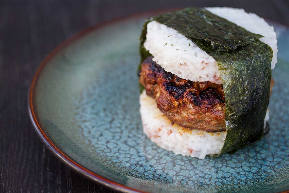 Asian-Inspired Merino Lamb Burger