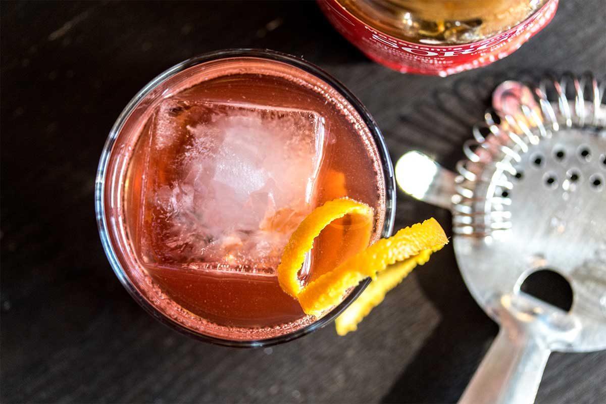 """Ozark Negroni"" Cocktail Recipe"