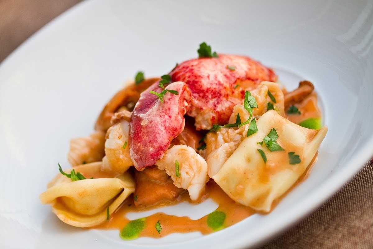 Lobster & Parsnip Pasta