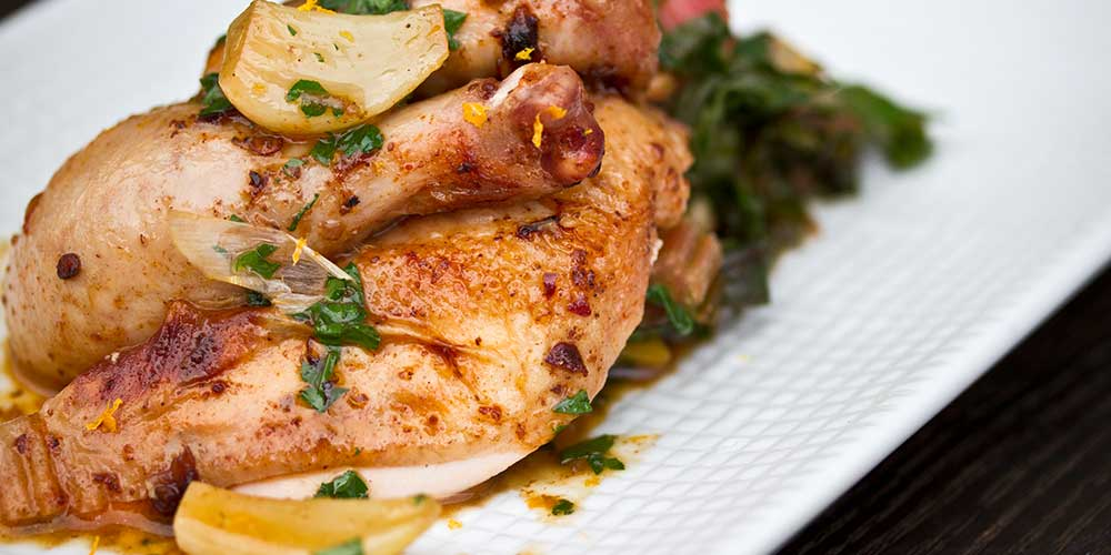 Roasted Pil Pil Poussin
