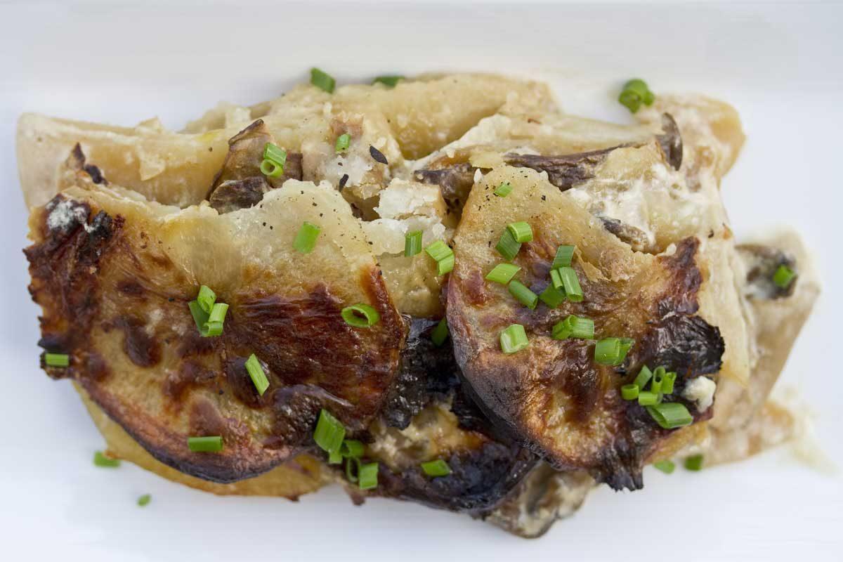 Potato Porcini Gratin