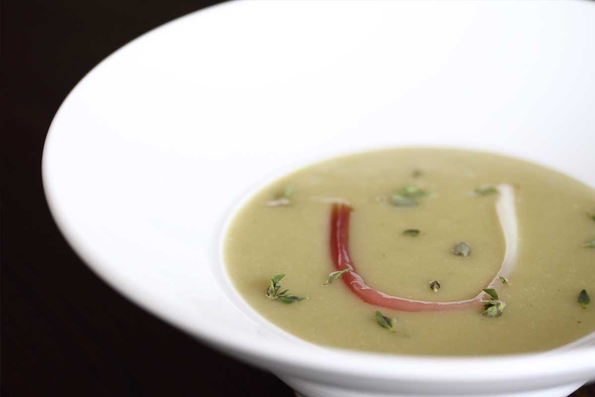 Potato Ramp Soup