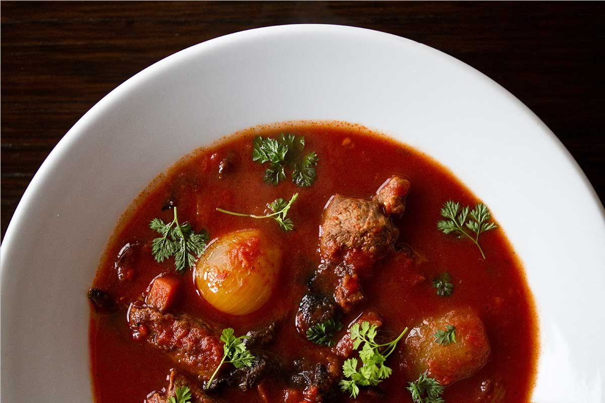 Provencal-Style Antelope Stew
