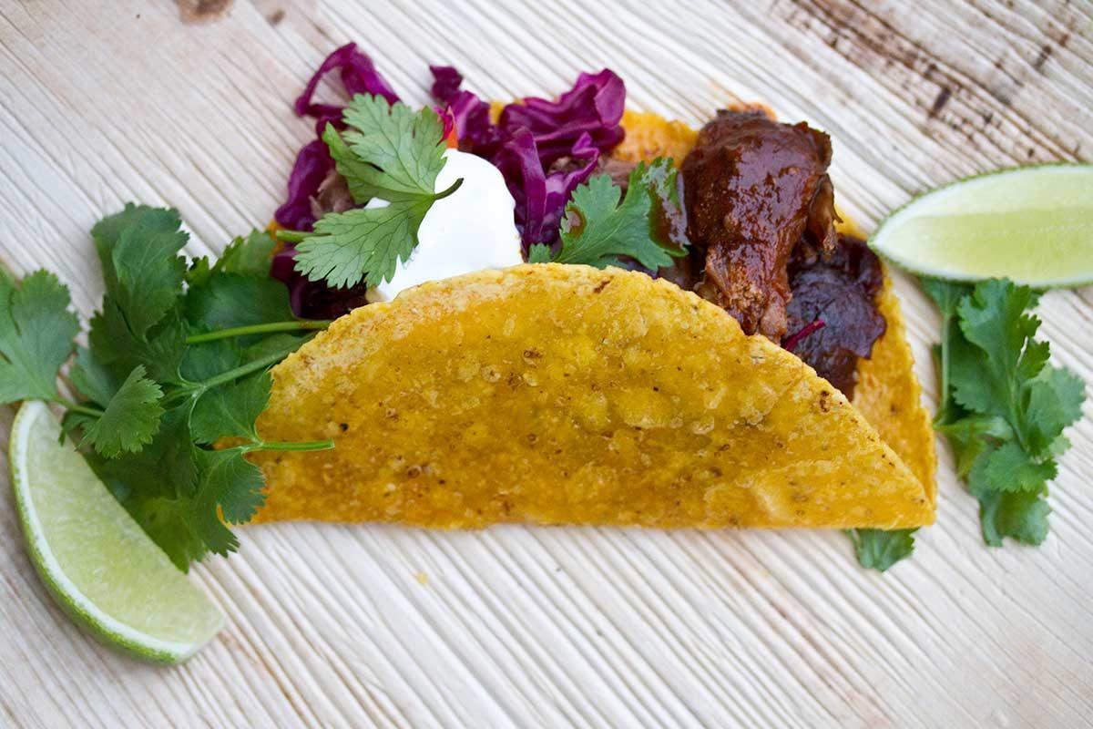 Pulled Mangalitsa Pork Tacos