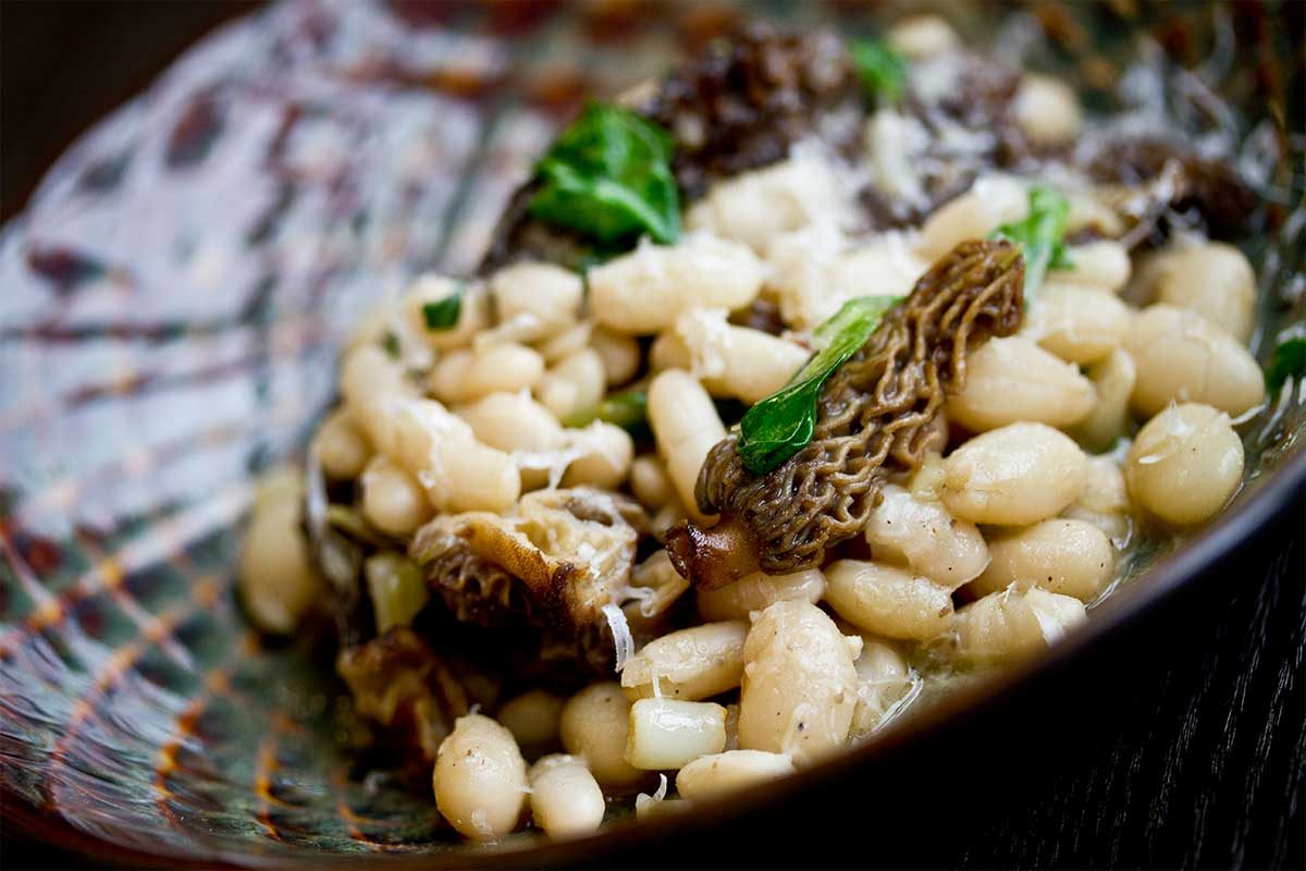 Ramps, Morels & Beans