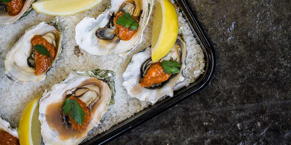 Oyster Roast w/ Cocktail Sauce