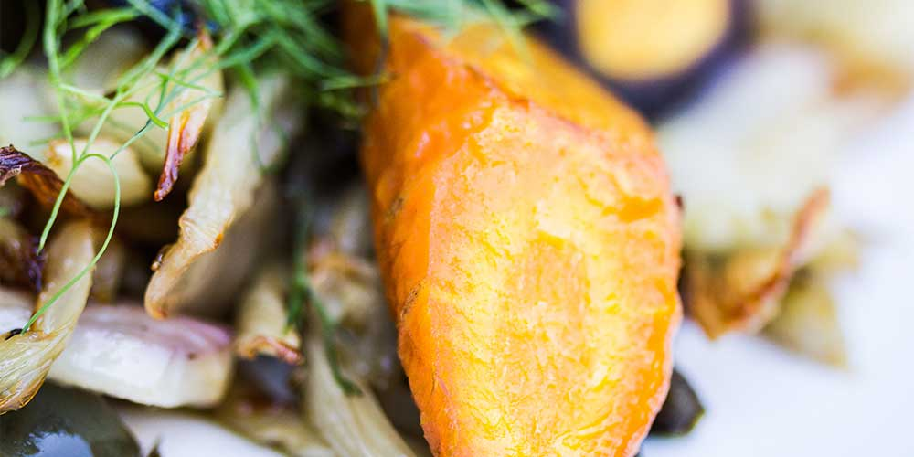 Roasted Fennel, Carrots & Poblano Chilies