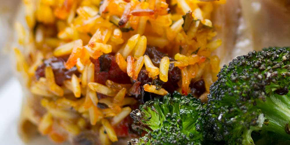 Roasted Saffron Rice