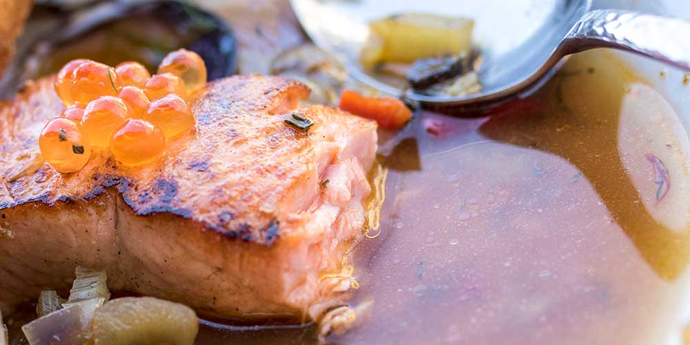 Salmon & Clam Bouillabaisse