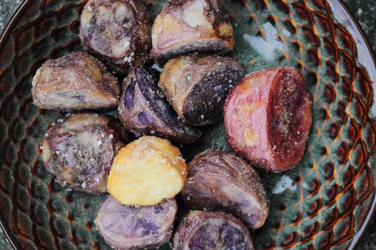 Semolina Oven-Fried Potatoes