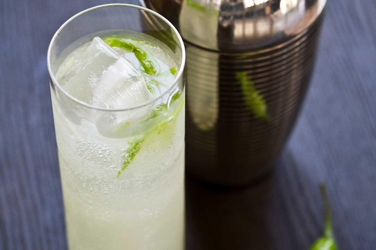 Shishito Yuzu-ade Cocktail