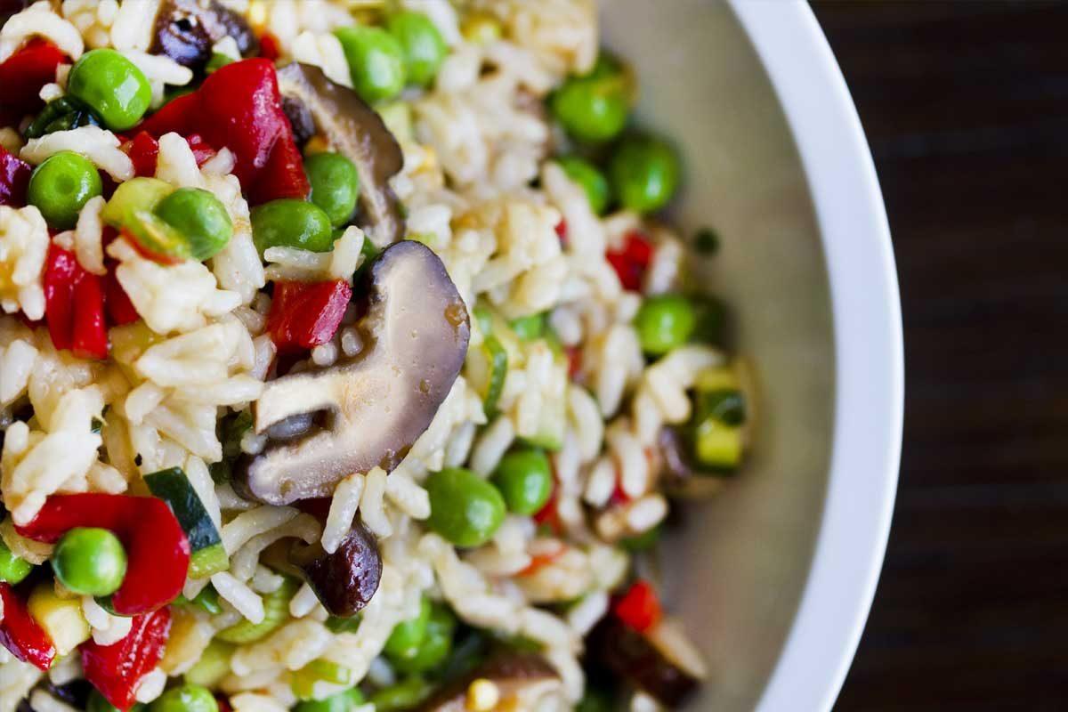Shitake Rice Salad