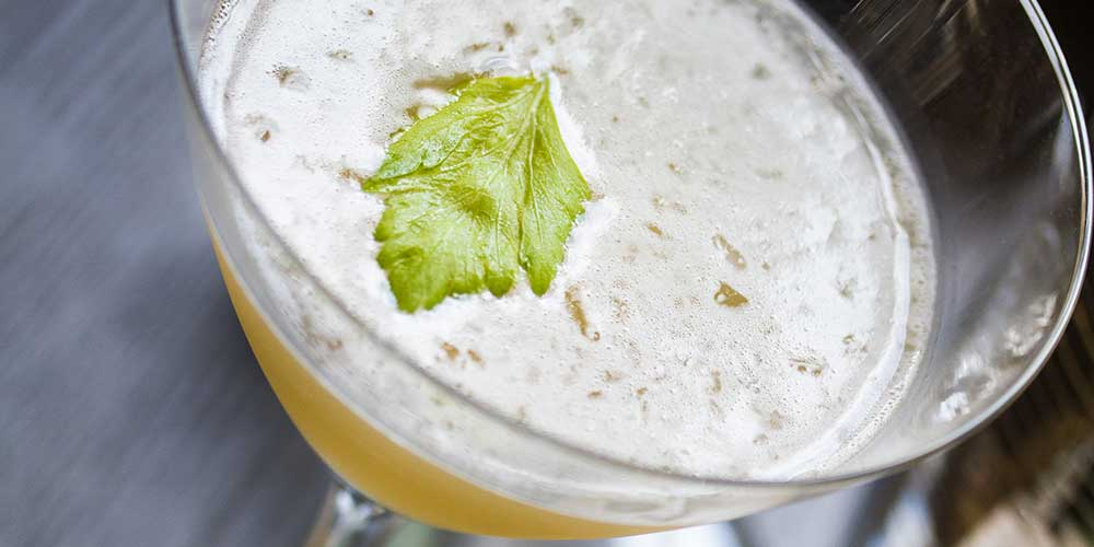 """Cocktail Recipe: """"Smoke in the Garden"""" - Marx Foods Blog"""