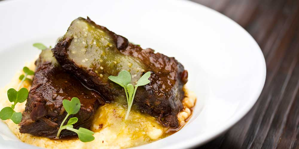 Southwestern Braised Short Ribs Amp Grits Marx Foods Blog