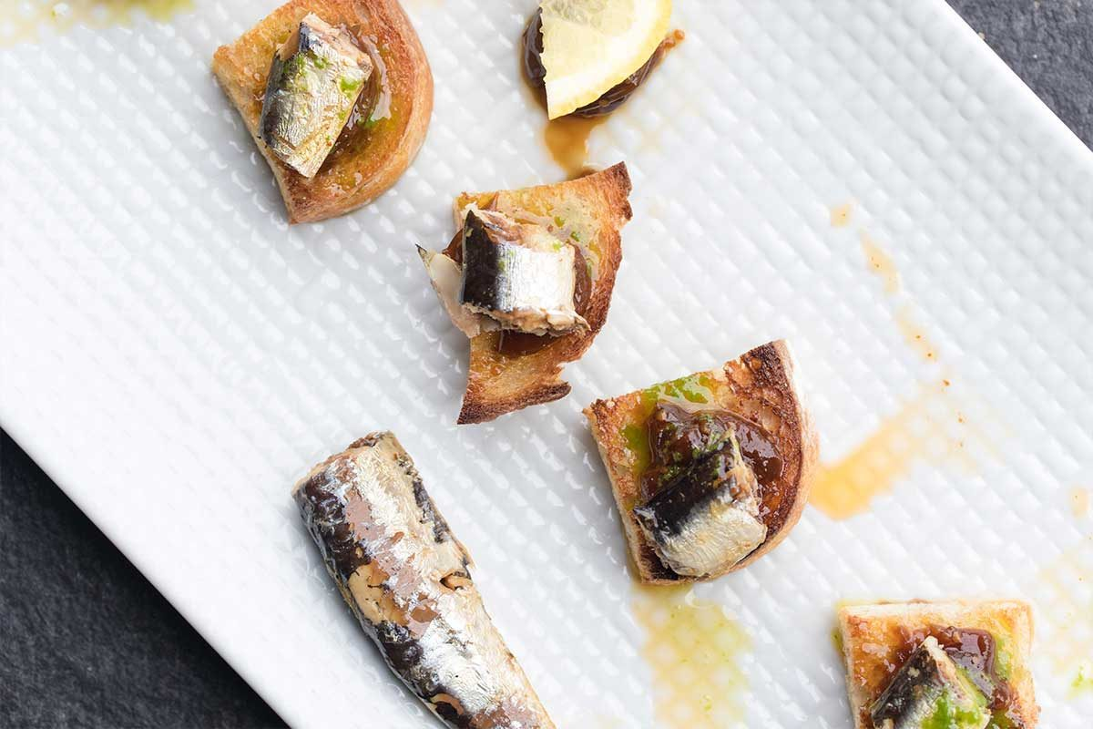 Spiced Sardines Chile Goldenberry