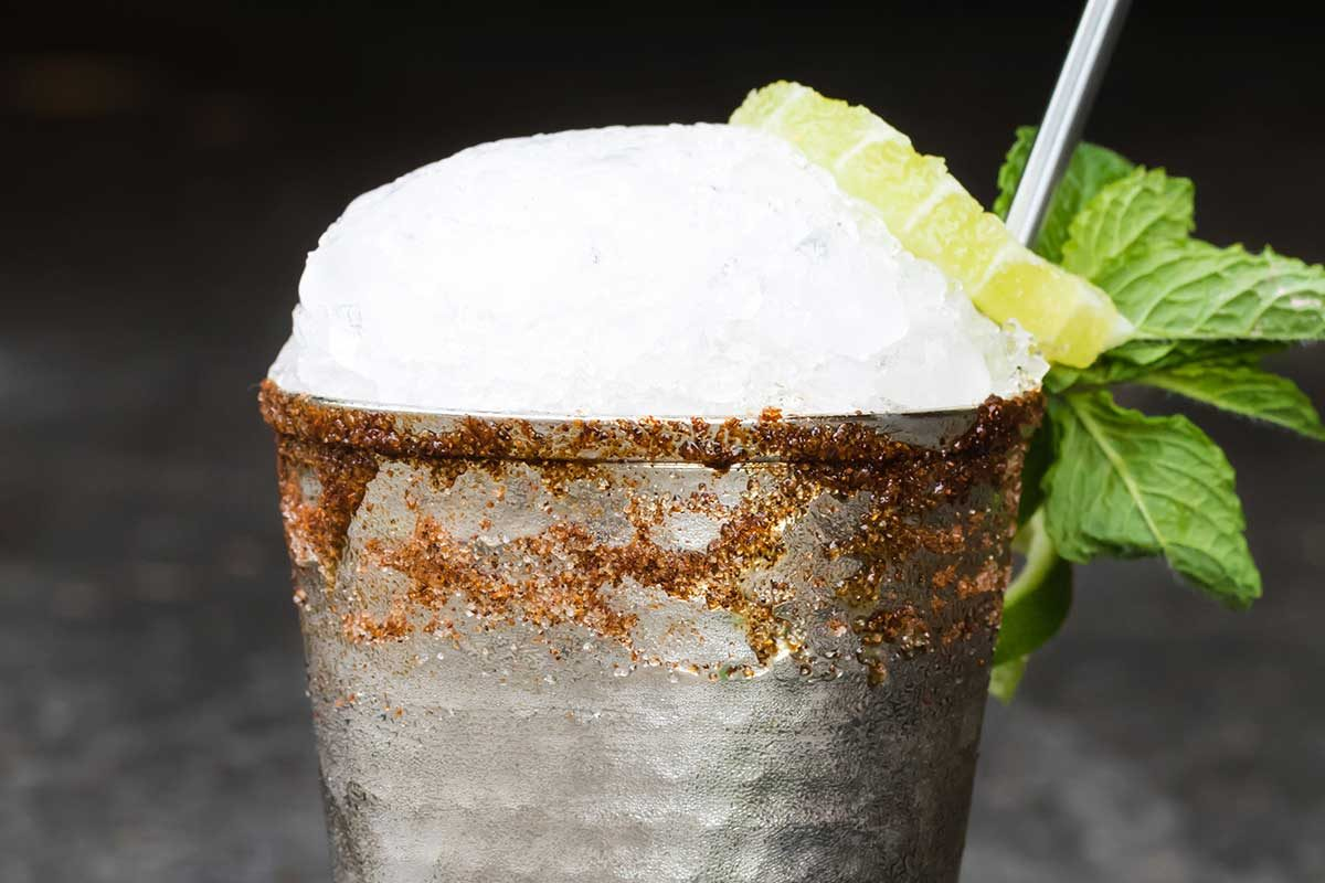 Tequila Ancho Mint Julep
