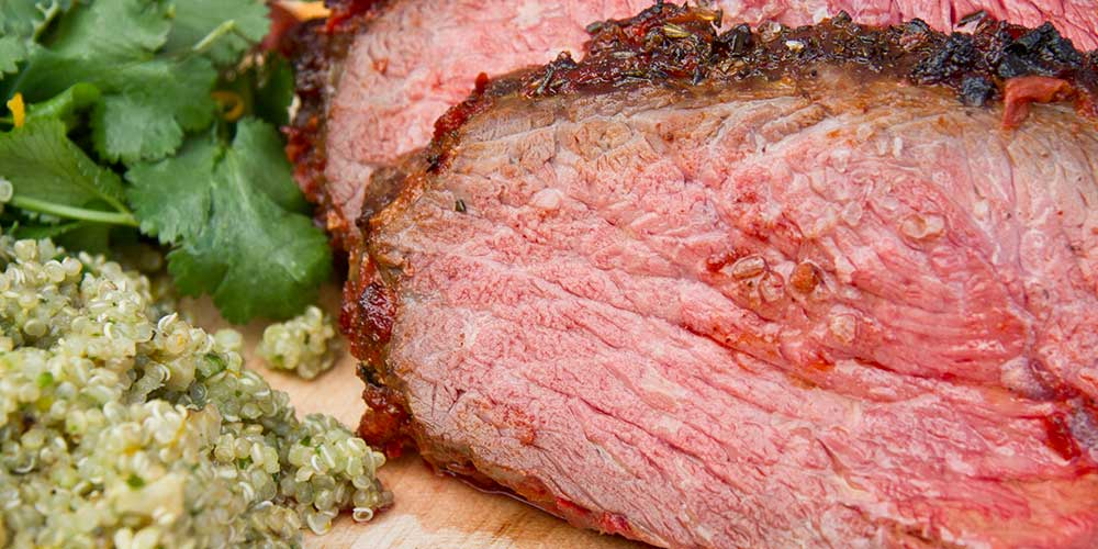 Tomato Crusted Sirloin Roast