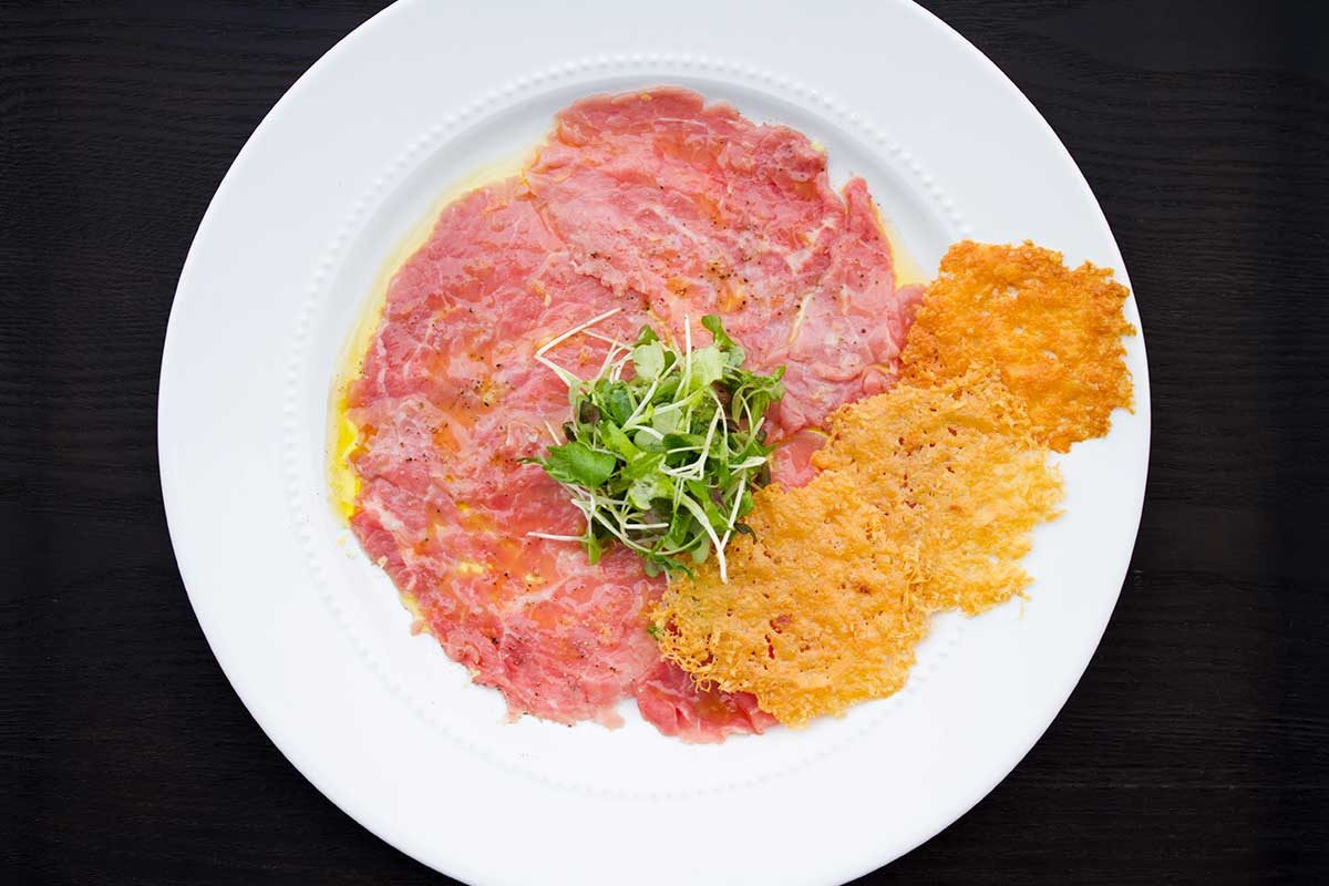 Truffled Veal Carpaccio