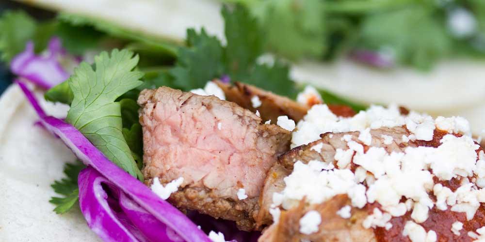 how to cut flank steak for carne asada
