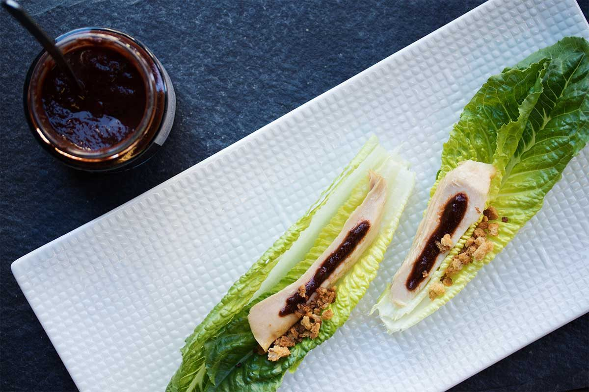 Ventresca Tuna Belly Lettuce Cup