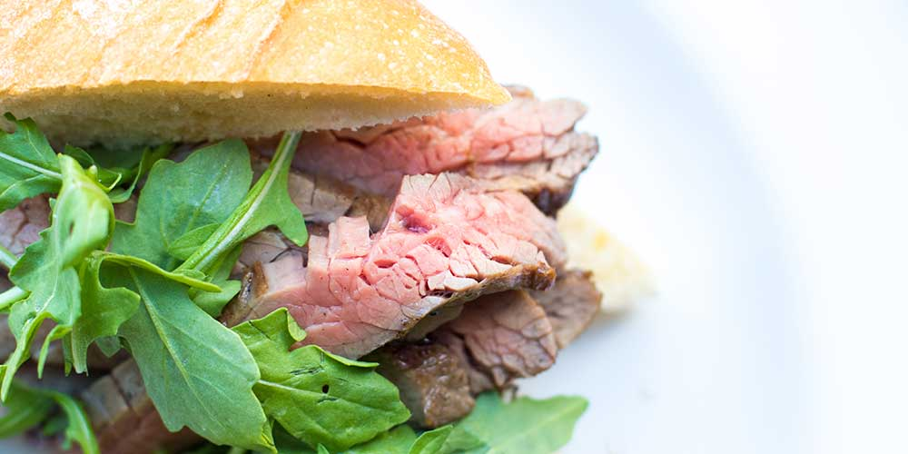 Wagyu Flank Steak Sandwiches