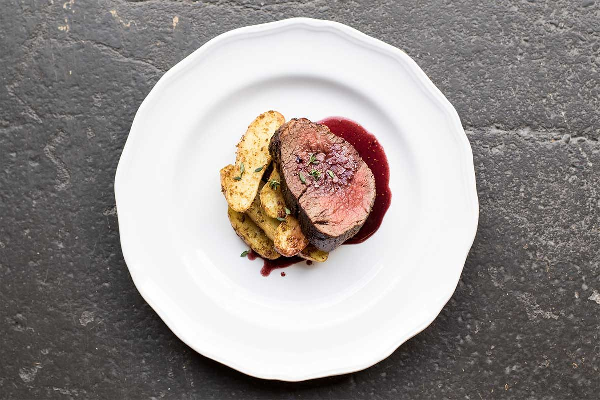 Wagyu Tenderloin Roast w/ Fig & Fennel Sauce