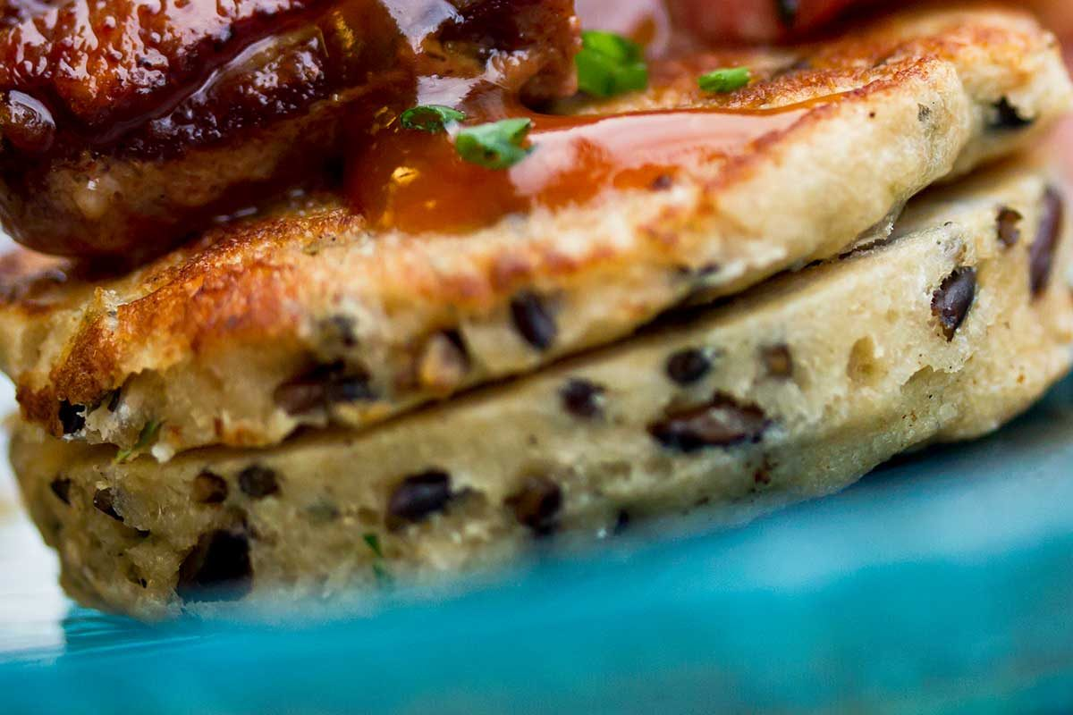 Wild Rice Pancakes - Marx Foods Blog
