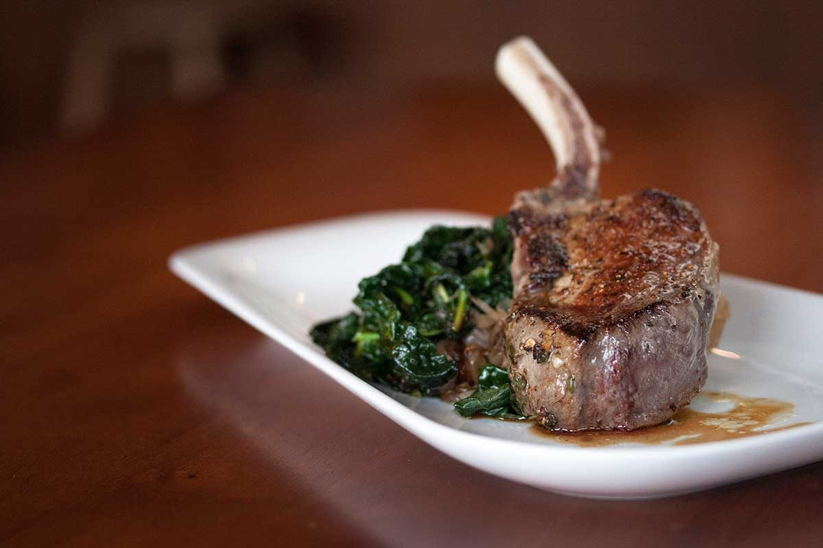 Pan Roasted Wild Boar Chop