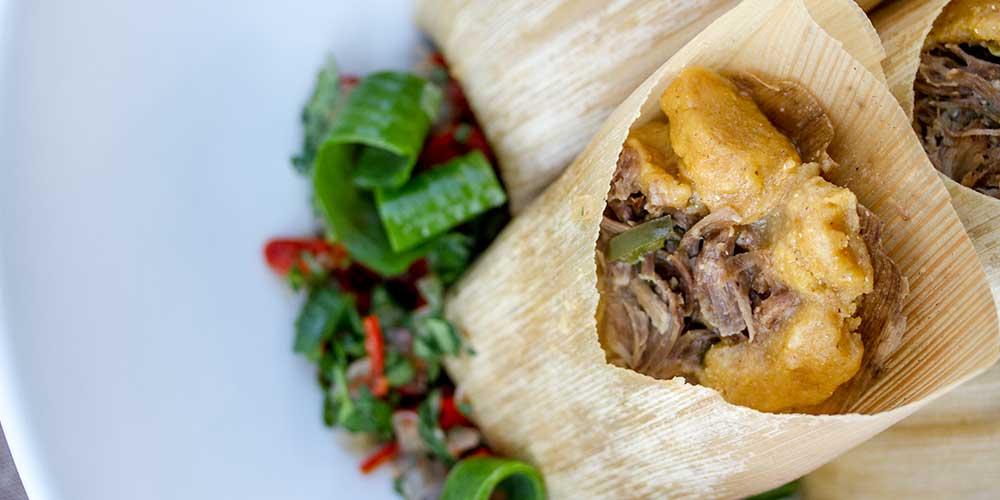 Wild Boar & Wagyu Oil Tamales