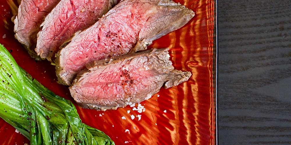 Yuzu Marinated Flank Steak