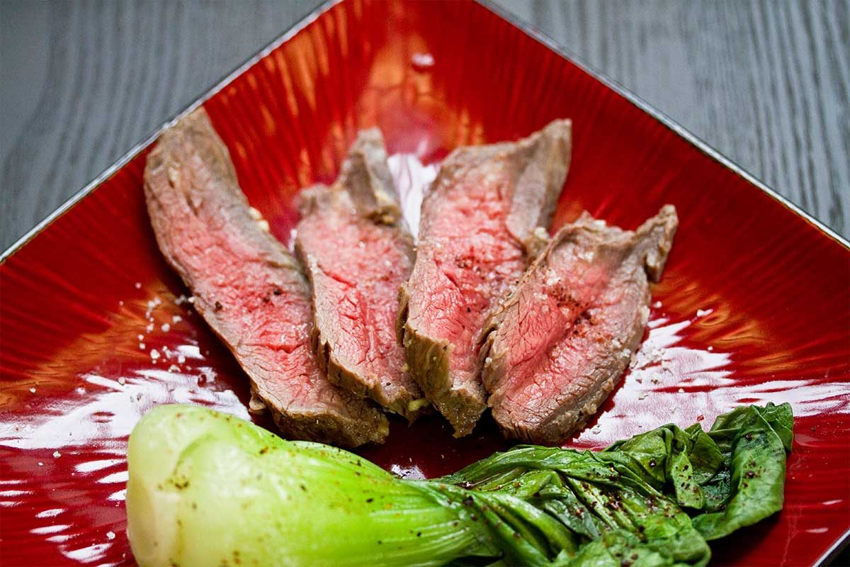 Yuzu Marinated Steak