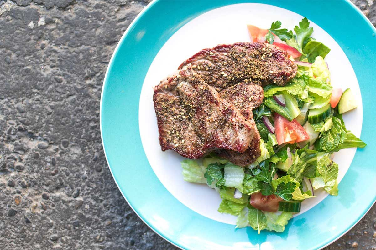 Zaatar Veal Cutlet