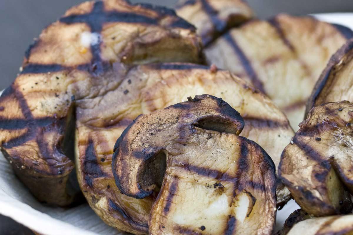 Grilled Porcinis