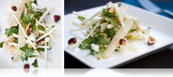Pear, Celery & Hazelnut Salad - Marx Foods Blog