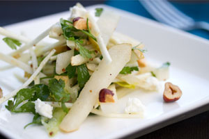 Pear, Celery & Hazelnut Salad - Marx Foods Blog