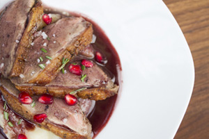 Pomegranate & Chile Glazed Duck Breasts - Marx Foods Blog