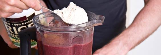 protein-powder-huckberry-smoothie