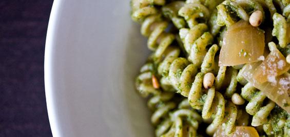 Stinging Nettle Pesto - Marx Foods Blog